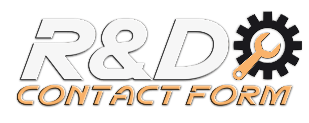 R&D Contact Form Title